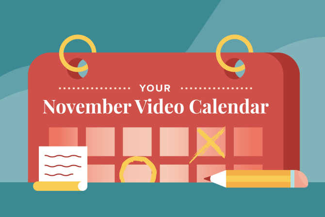 November Social Holidays to Celebrate with Video