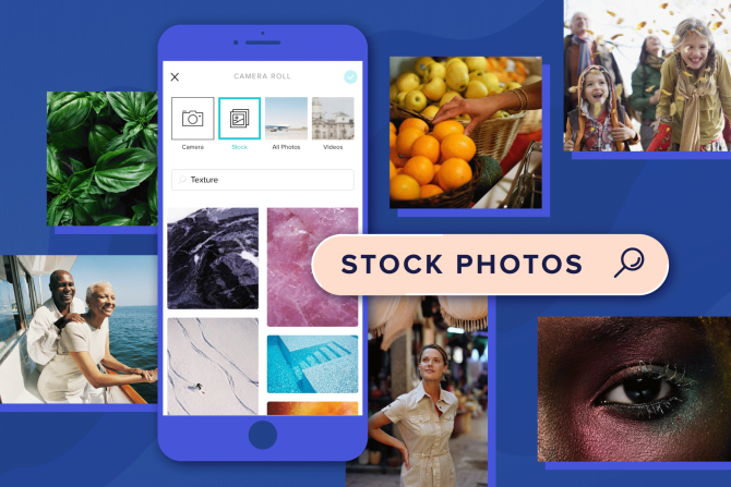 Introducing Stock Photos for Your Instagram Stories