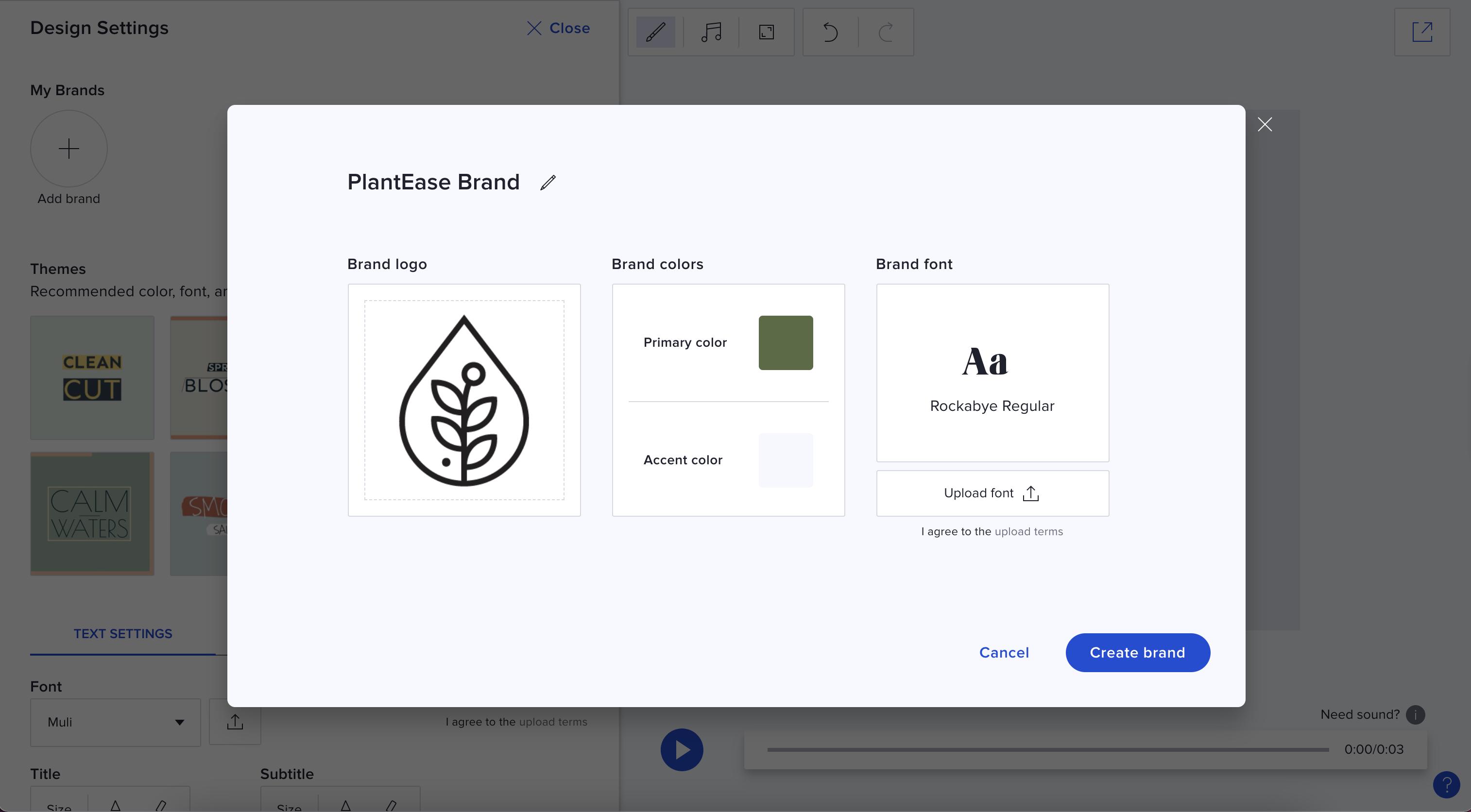 Step 3 Create Saved Brand Module Complete