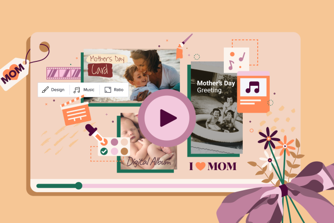 Creating a Personalized Mother's Day Video Gift in Minutes (for Free!)