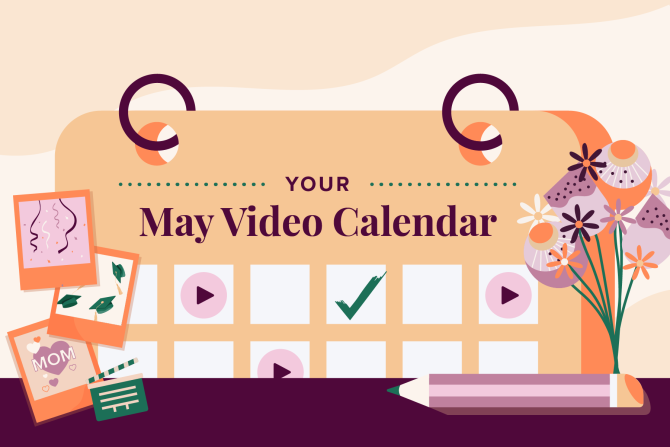 May Social Holidays to Celebrate with Video