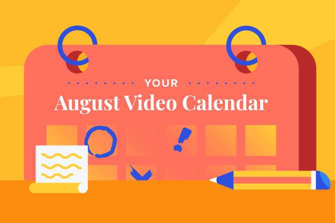 August Social Holidays to Celebrate with Video