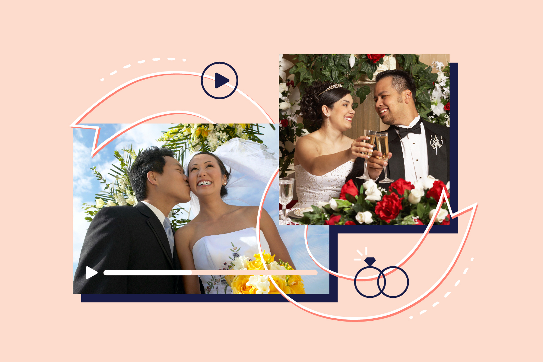 26 Inventive Ways to Share Your Wedding with Video