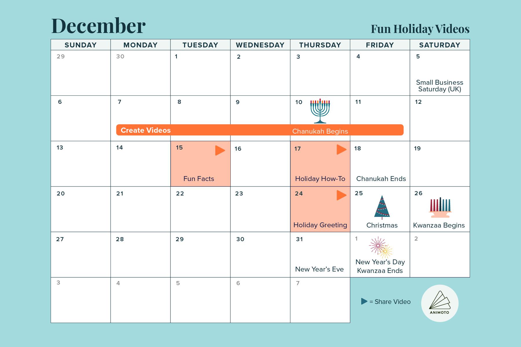 2020-Holiday-Calendar fun-holiday-videos