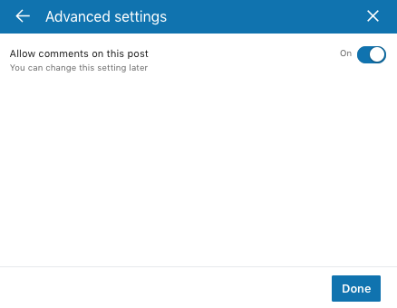 linkedin-allow-comments