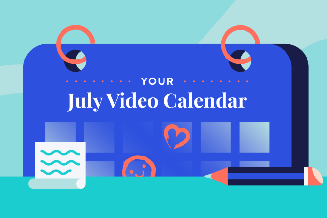 July Social Holidays to Celebrate with Video
