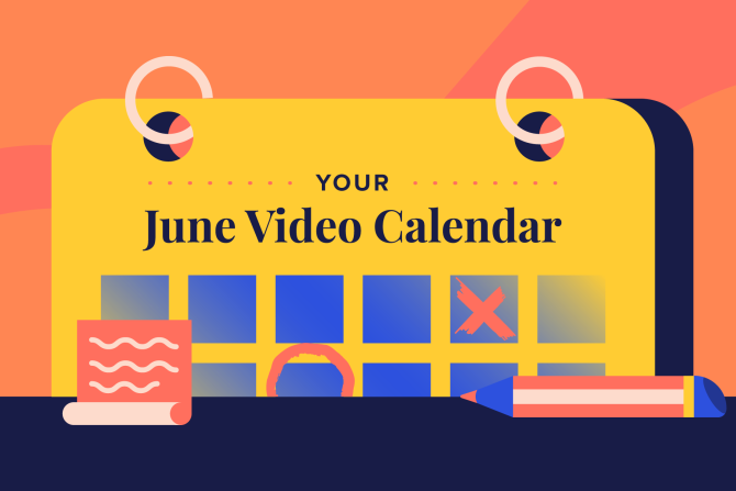 June Social Holidays to Celebrate with Video