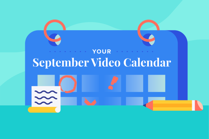 September Social Holidays to Celebrate with Video
