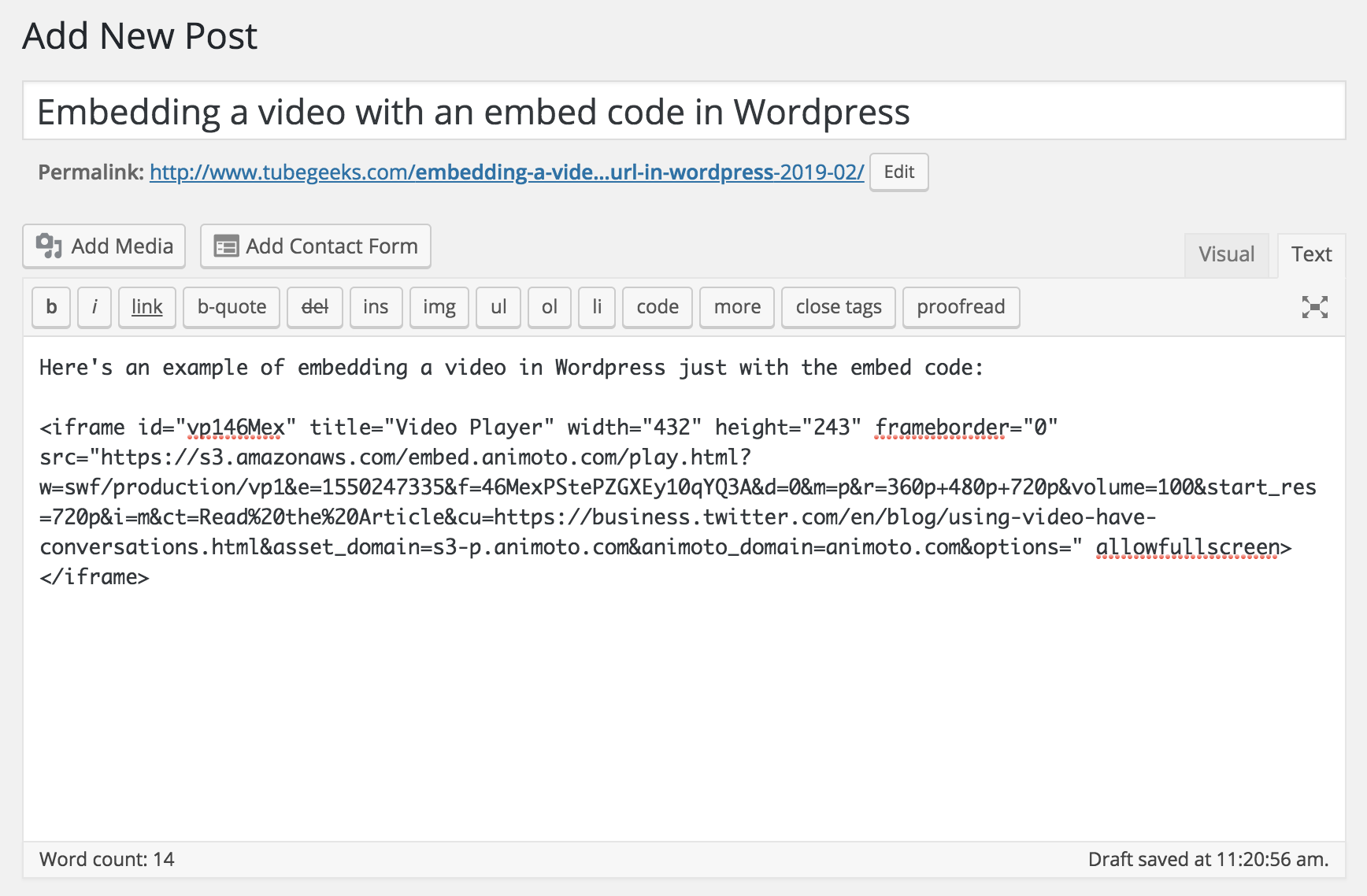 Complete Guide to Embedding Video on Your Website - Animoto