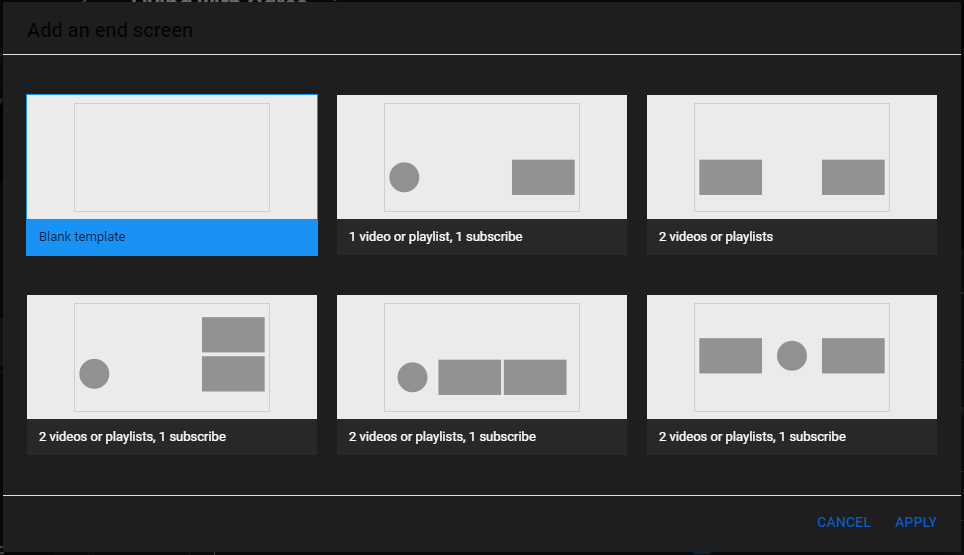 add an end card with the YouTube editor