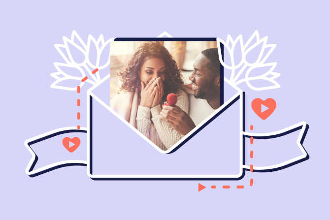 14 Creative Wedding Video Invitation Ideas