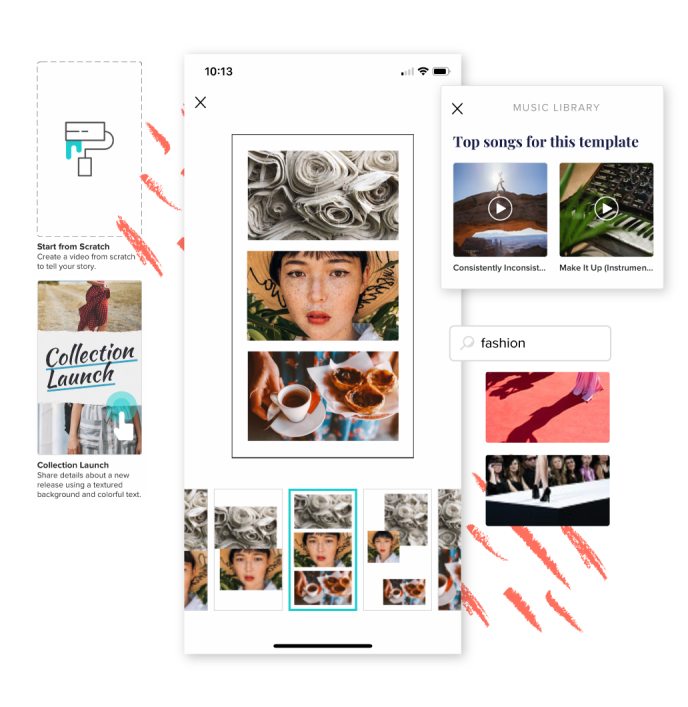 Features that make it easy to create engaging IG Stories