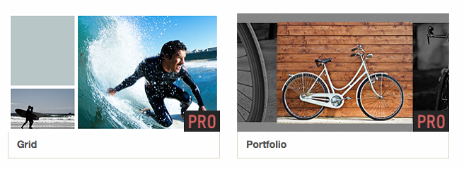 "Two New Pro Video Styles – ""Portfolio"" & ""Grid"""