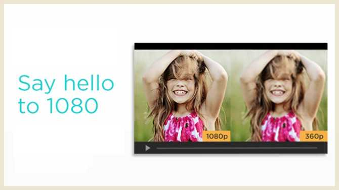 Now introducing: 1080p HD for Pro Customers