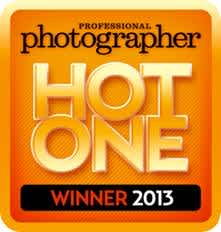 Professional Photographer Magazine Hot One Award Winner