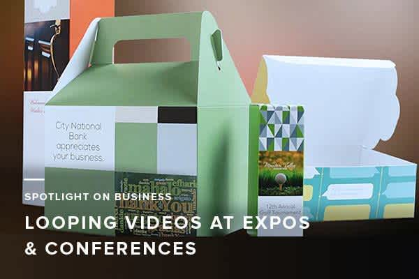 Spotlight on Business: Looping Videos at Expos and Conferences