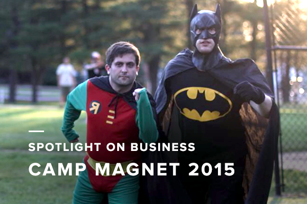 Spotlight on Business: Capturing the Excitement of Camp Magnet 2015