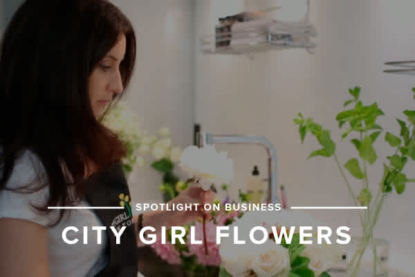 Spotlight on Business: Setting the Scene with City Girl Flowers