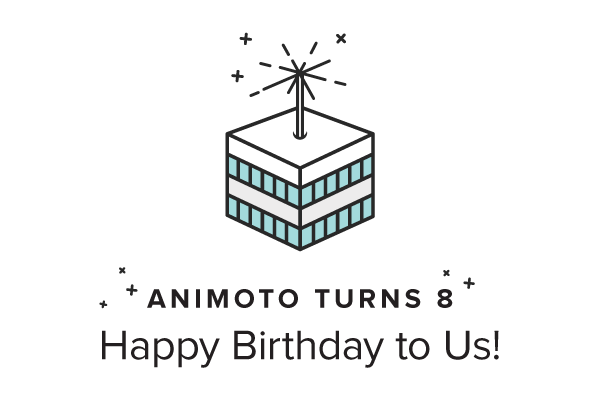 Animoto Turns 8: Happy Birthday to Us!