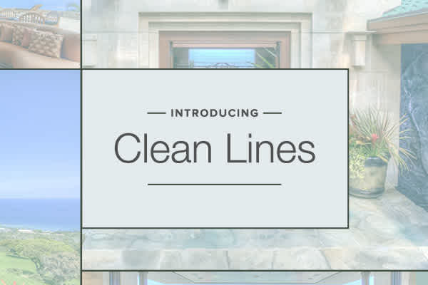 Introducing Clean Lines: A New Style Designed with Real Estate Agents in Mind