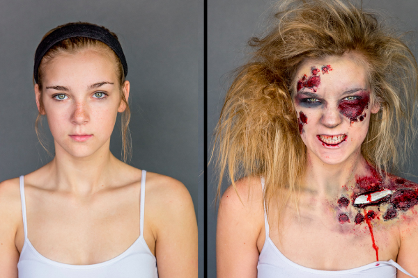 The Ultimate Zombie Makeup Tutorial [Video]
