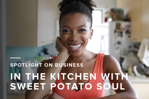 Spotlight on Business: Vegan Cooking with Sweet Potato Soul