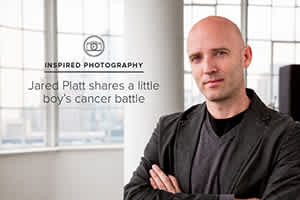 Inspired Photography: Jared Platt Shares a Little Boy's Cancer Battle