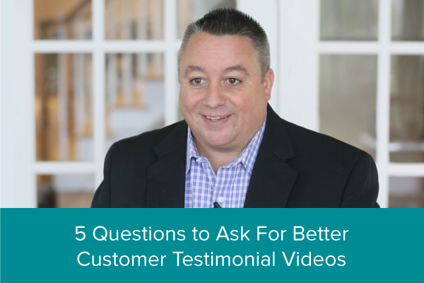 5 Video Testimonial Questions to Ask for Better Videos