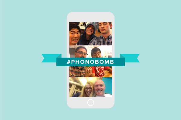 WARNING: Don't Leave Your Phone Unattended #phonobomb