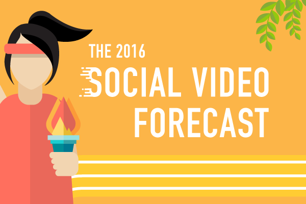 The 2016 Social Video Forecast [Infographic]