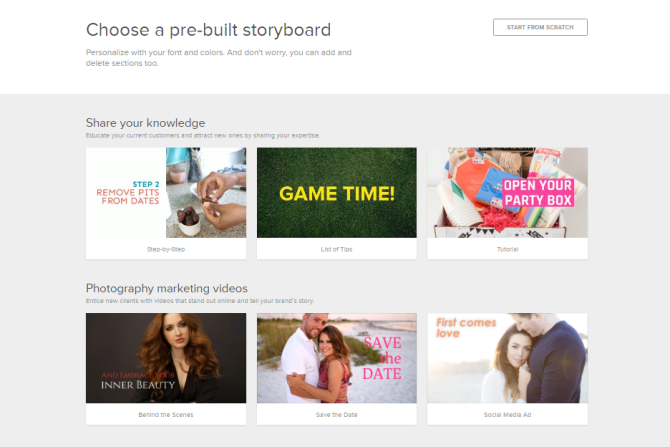 How to Use Storyboards in Animoto Marketing