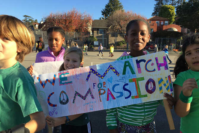 Video: How One School Is Sharing Their Message of Compassion