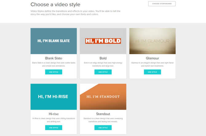 How to Start an Animoto Marketing Video from Scratch