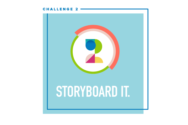 Social Video Bootcamp Challenge #2: Storyboard it.