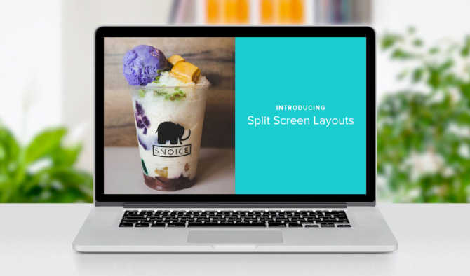 New! Add Split Screen Layouts to Your Marketing Videos