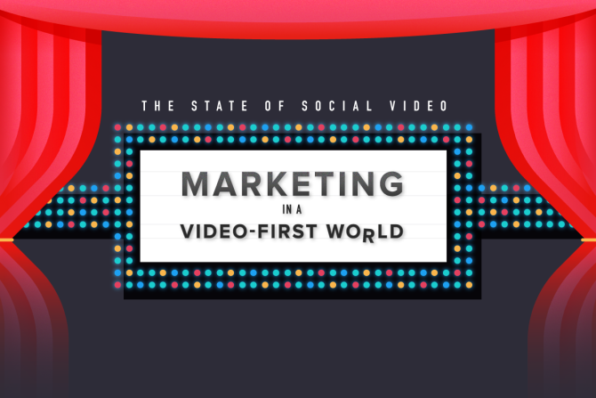 The State of Social Video: Marketing in a Video-First World [Infographic]