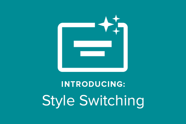New! Switch Between Marketing Video Styles