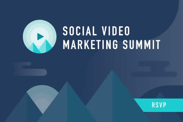 Tune into our Social Video Marketing Summit on October 30