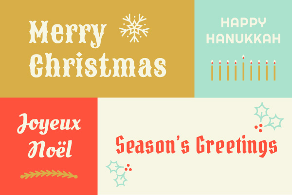 Holiday Seasons Greetings Blog