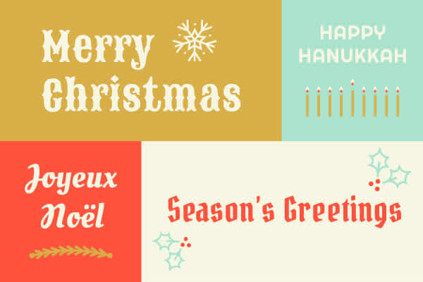60 Different Ways to Say Happy Holidays in Your Next Video