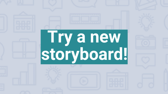 Social Video Bootcamp: Try a New Storyboard