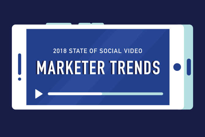 2018 State of Social Video: Marketer Trends [Infographic]