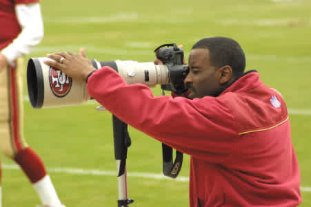 Pro Photography Spotlight: 49ers Photographer Terrell Lloyd