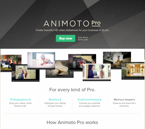 Getting Started With Animoto Pro: A Webinar