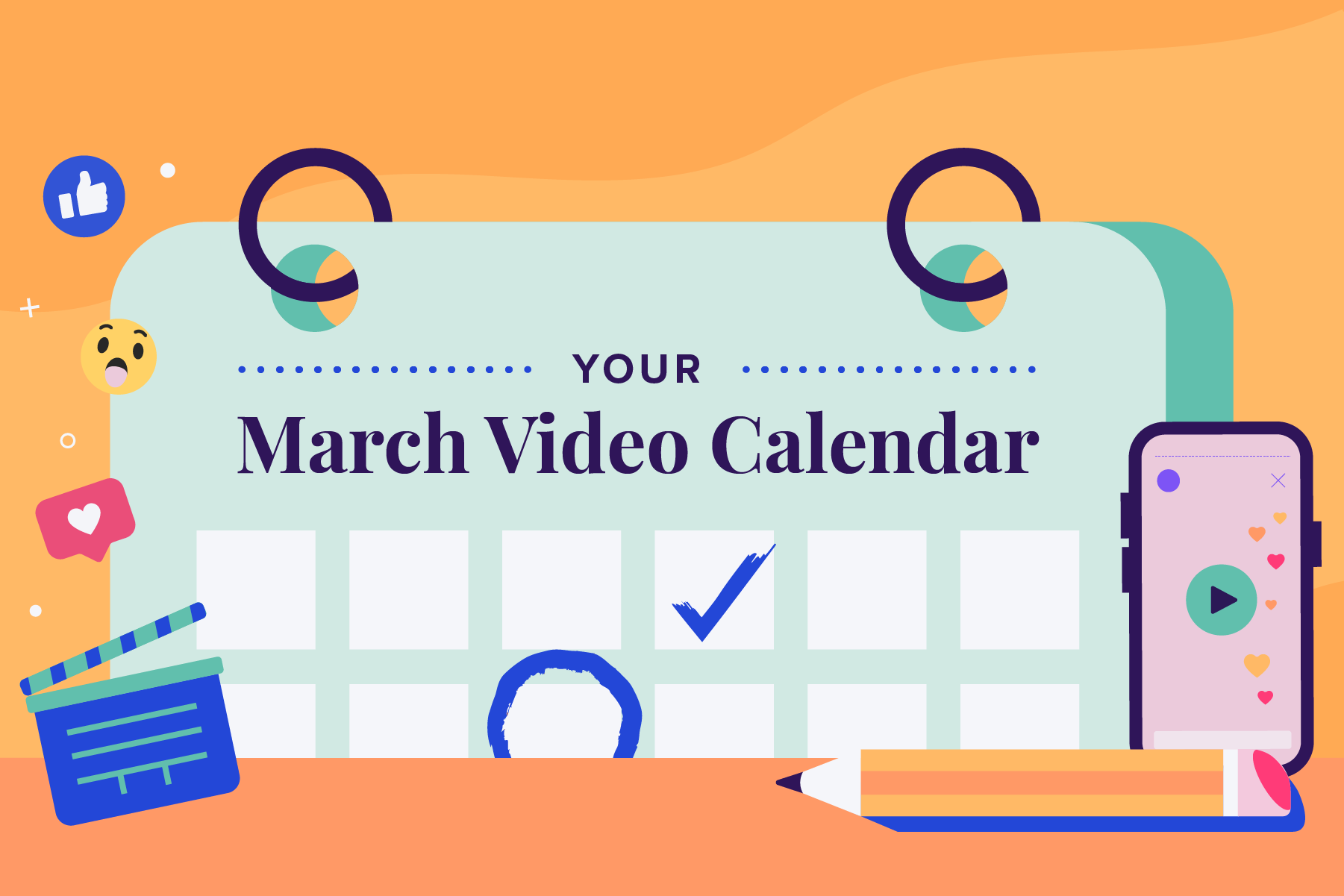 2021-03 Engagement-Email March Calendar Blog