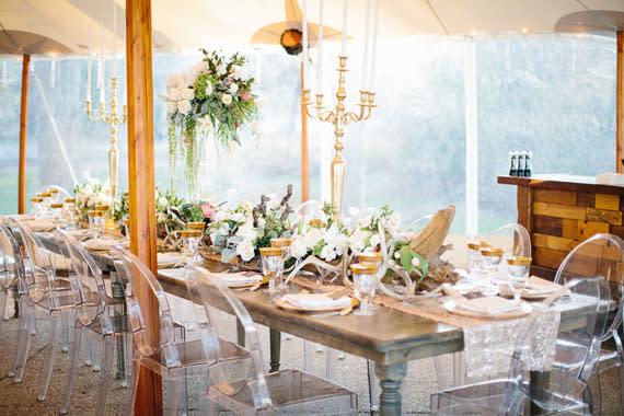Tischdeko - Tischdeko zur Hochzeit aktuelle Trends - CandyCruchEvents ...