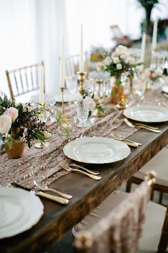 Hochzeitsdeko selber machen ideen f r die tischdeko for Tischdeko hochzeit holz