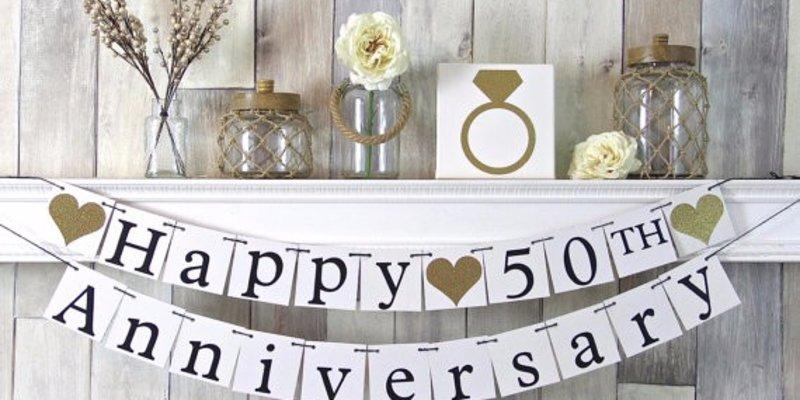 Goldene Hochzeit Feiern