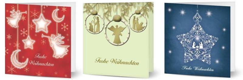 Religiöse Weihnachtskarten.Schöne Weihnachtskarten Gestalten