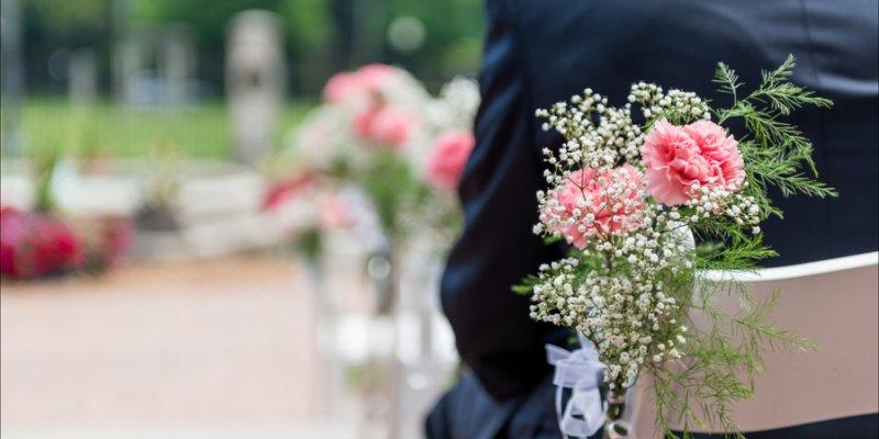 Hochzeitsdeko Fur Die Trauung
